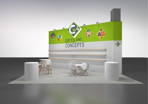 Gifts & Concepts @ ISM 2018 design